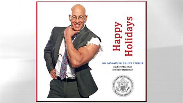 US Ambassador to Finland Christmas Card