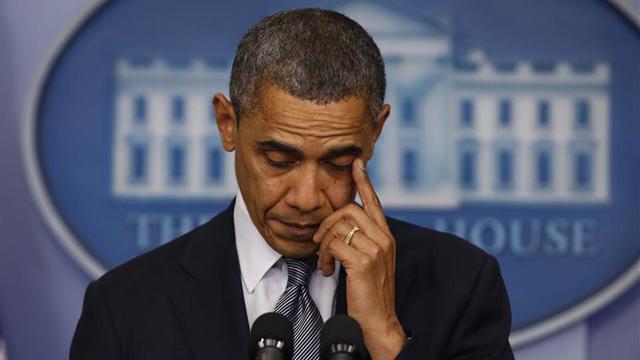 obama cry sandy hook