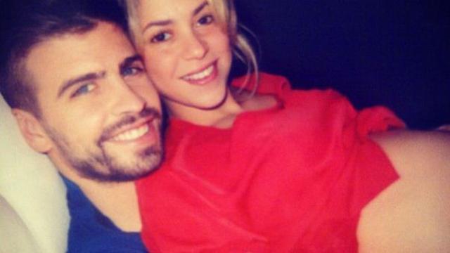 Shakira, Gerard Pique, Barcelona, Baby Sonogram, Baby Bump.