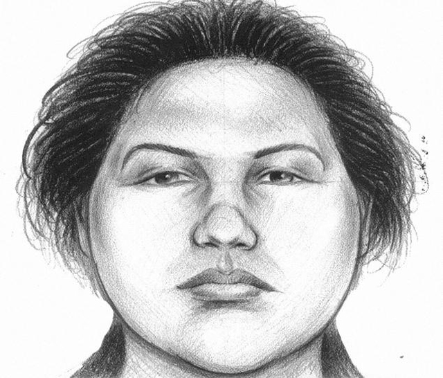 Police Sketch of the Subway Pusher