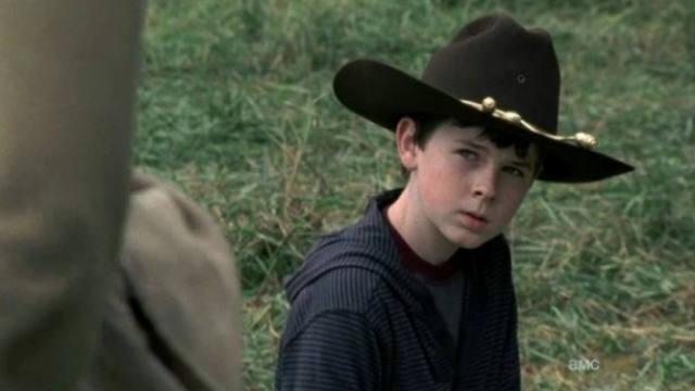 The Walking Dead, mid-season finale, Carl