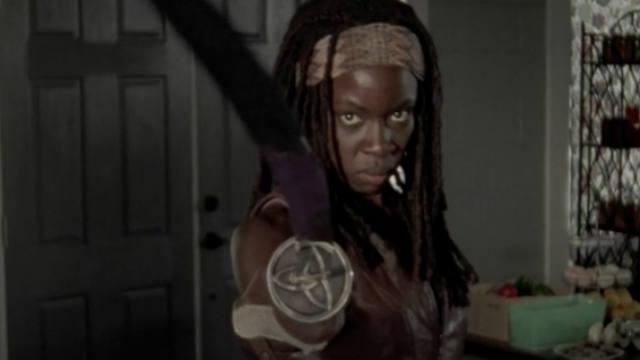 The Walking Dead, Mid-season finale, Michonne