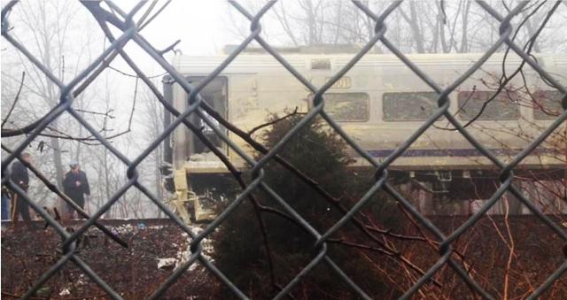 NJ Transit crash tractor trailer