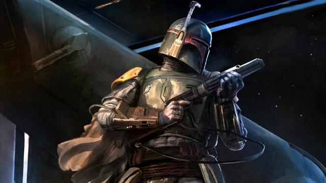 Star Wars TV Show Bounty Hunter