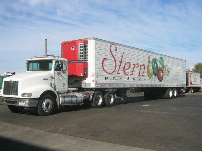 stern produce truck