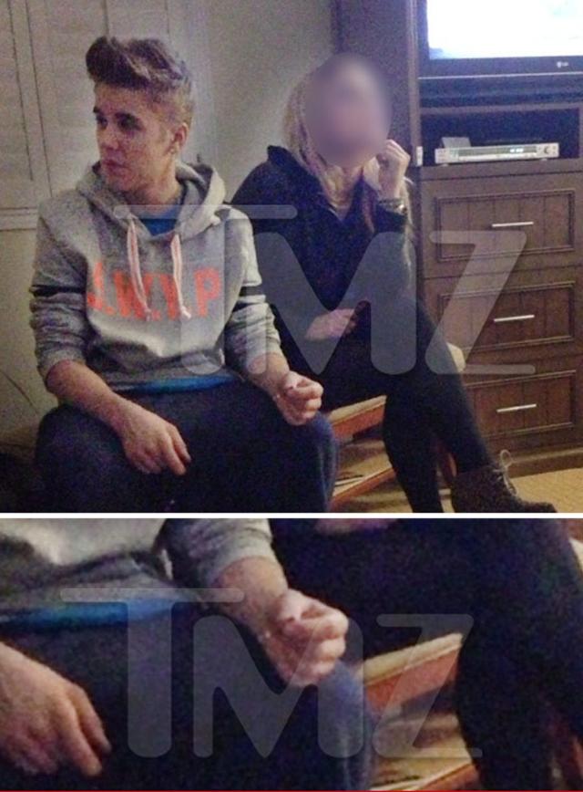 Justin Bieber Smokes Pot