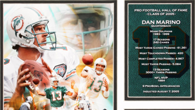 Dan Marino Hall of Fame