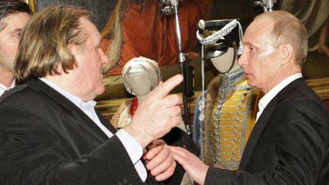 Gerard Depardieu, French socialist, Vladimir Putin, Russian Citizenship, Belgium.
