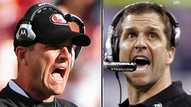 The Harbaugh brothers have very different head-coaching styles