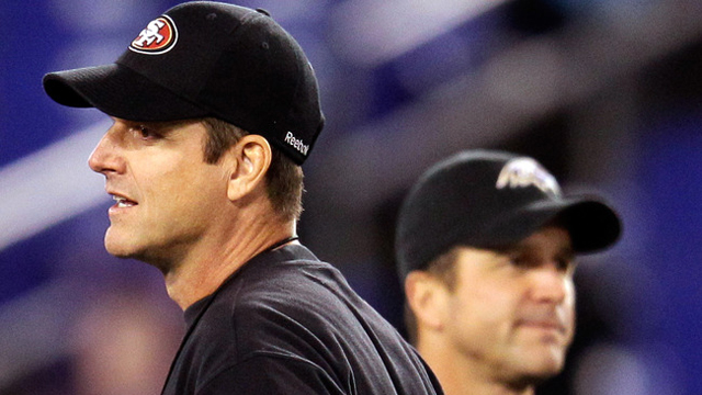 The Harbaugh brothers will face off as head coaches at Super Bowl XLVII