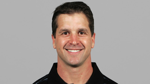 John Harbaugh, being decidedly happier and more reserved than his brother