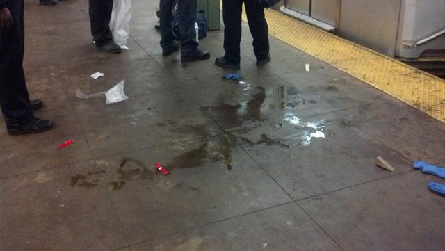 woman struck by subway L train Bedford