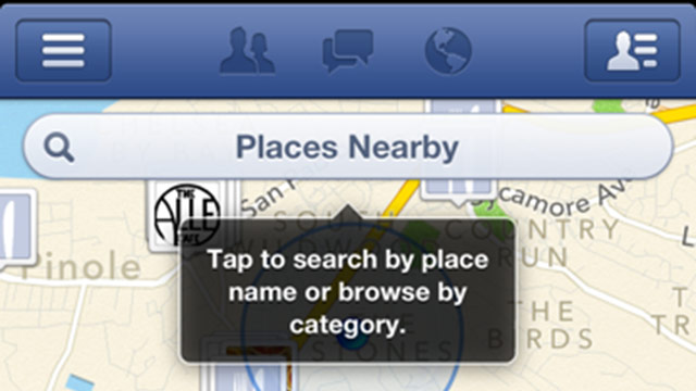 nearby