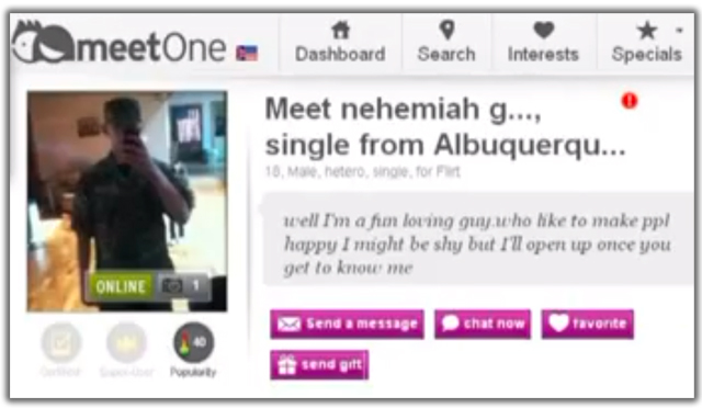nehemia griego dating profile meet one