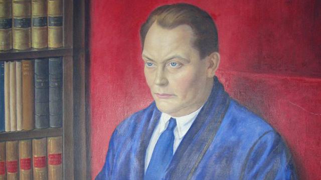 """The artist's """"honest"""" depiction of Nazi leader Hermann Goering"""