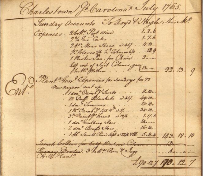 Slave owner document