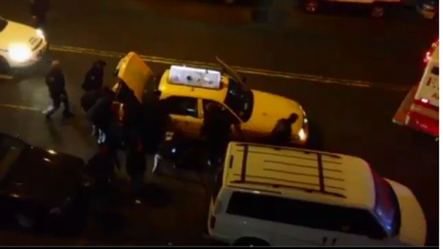 NYPD Taxi Cab Rescue