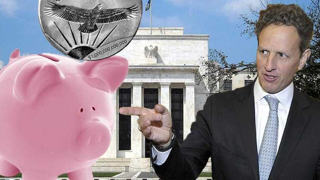 Trillion Dollar Coin Solution