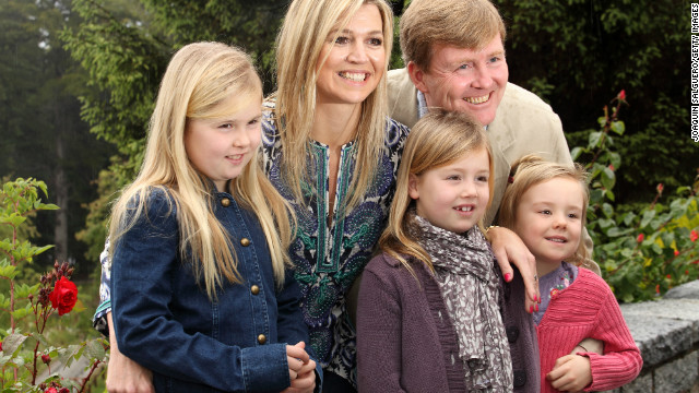 Prince Willem-Alexander, Prince Willem-Alexander and Family