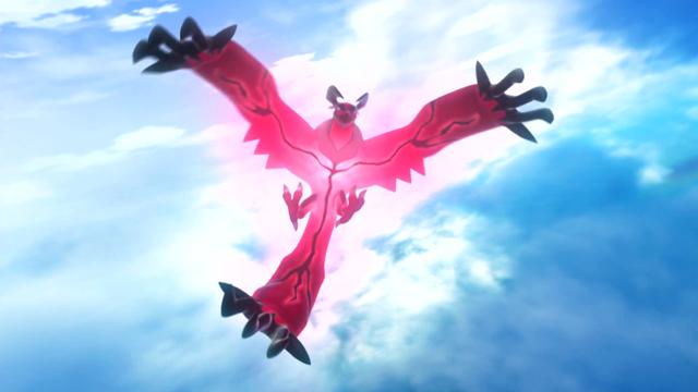 Pokemon X and Y Legendary