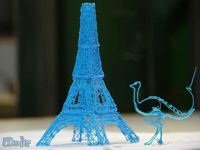 The 3Doodler, a 3D printing pen being funded on Kickstarter