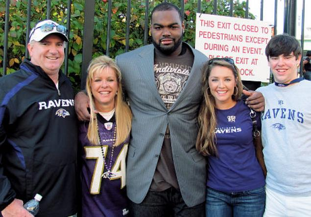 Michael Oher adopted Tuohy family Superbowl