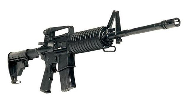 christopher dorner gun