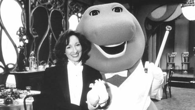 Sheryl Leach, the creator of Barney the Dinosaur, Patrick Leach, Patrick Leach has been arrested for attempted murder