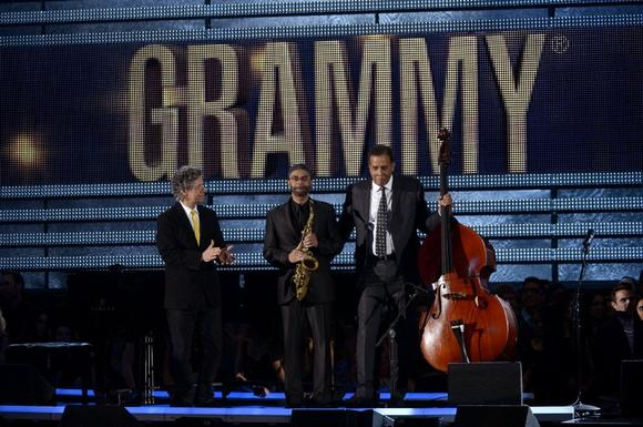 Chick Corea Stanley Clarke and Kenny Garrett gave tribute to Dave Brubeck at the 2013 55th Grammy Awards