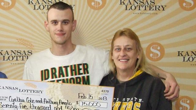 Two brothers win lottery blow up house Wichita Kansas $75,000 lottery win.