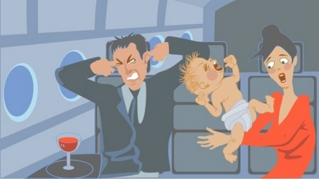 Crying Baby, Delta Airlines, Man Slaps Baby