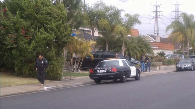 Christopher Dorner manhunt, La Palma, California, LAPD , cop killer's mother's house