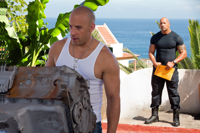 Fast And Furious 6 Photo Gallery The Rock Vin Diesel