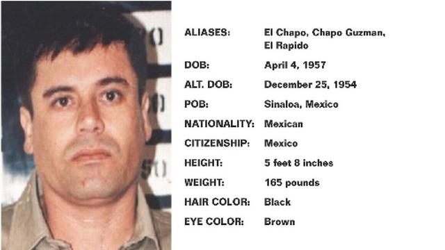 Joaquin El Chapo Guzman, Public Enemy No. 1