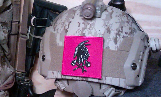 The Navy SEAL Team 6 shooter who killed Osama bin Laden wore this helmet during the 2011 raid.