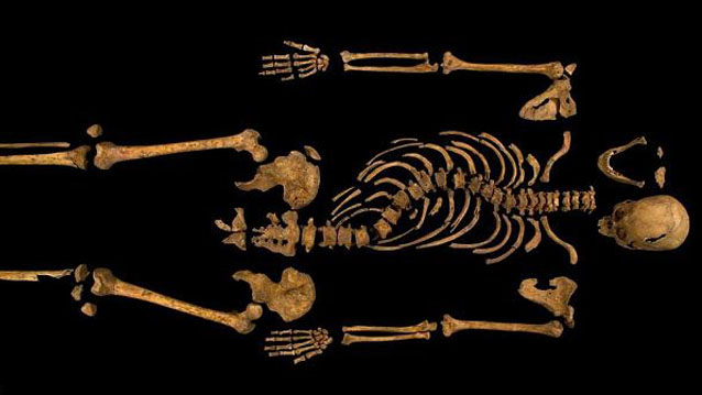 King Richard III's Remains Found Under Leicester Car Park