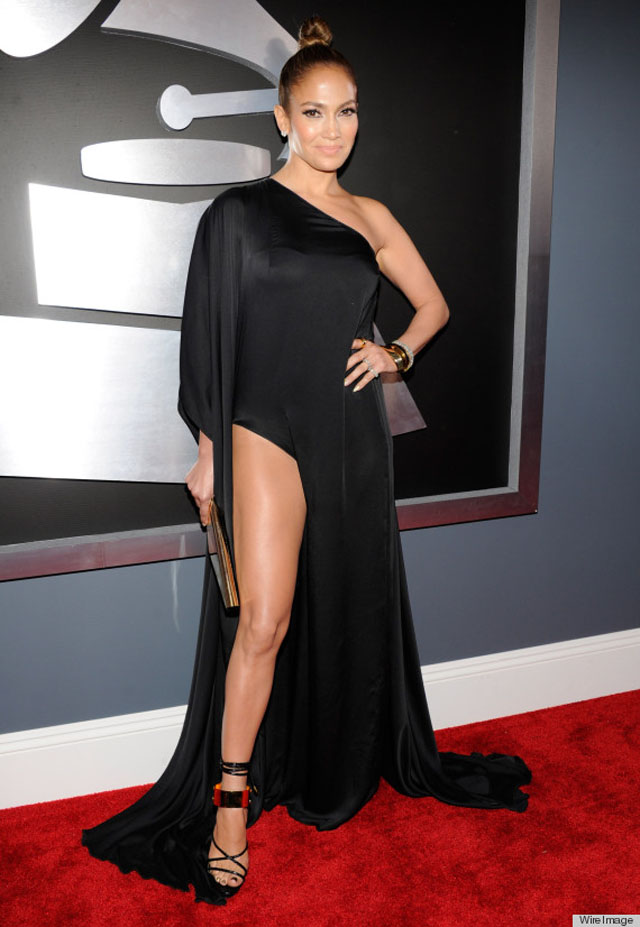 J-Lo grammy dress