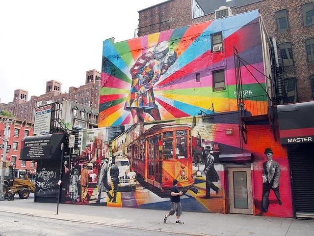 Kobra street artist