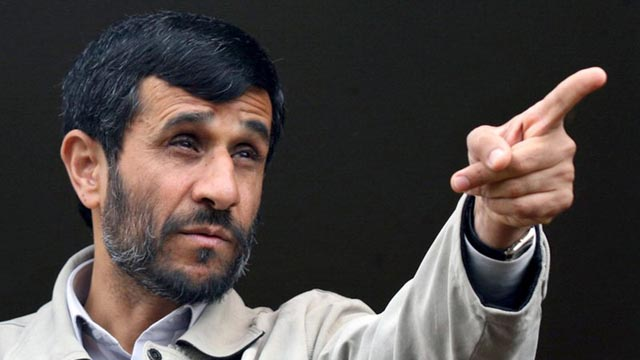 Iranian President Mahmoud Ahmadinejad volunteers to be first Iranian in space