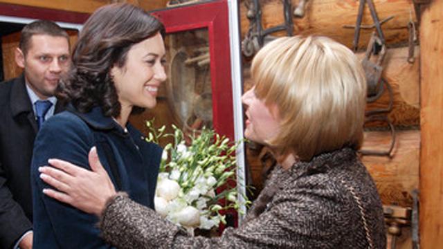 Olga Kurylenko Kateryna Yushchenko