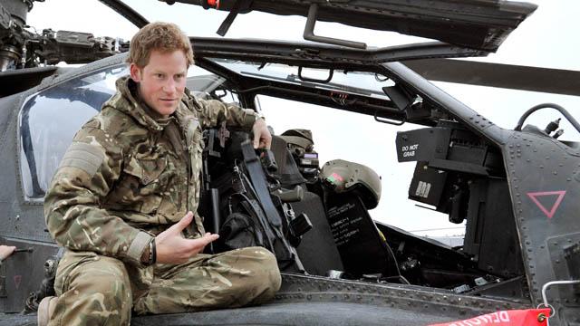 Prince Harry Cressida Bonas Afghanistan