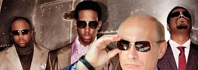 Boyz II Men Playing Russian Concert, Boyz II Men Vladimir Putin.