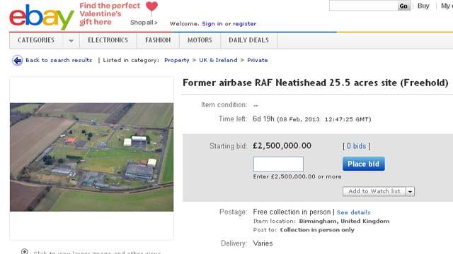 RAF Base for sale on eBay