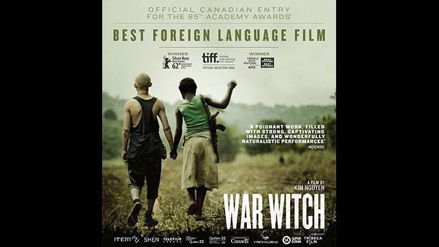 war witch, war witch movie, war witch (rebelle), rebelle, kim nguyen, director kim nguyen, war witch oscars, child soldiers, canadian movies, canadian films, movies set in africa, oscar nominated movies, french canadian directors, Canadian directors, academy awards, best foreign language film nominee, best foreign language film, African movies, films, movies, metropole films, movies about child soldiers, 2013 oscars, 2013 academy awards, directors, democratic republic of congo, Congolese soldier, Congolese, berlin film festival, war witch cast, war witch crew