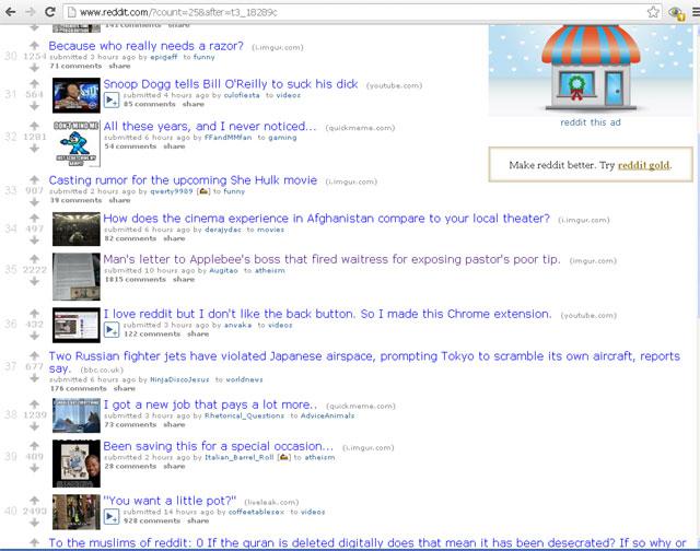 reddit applebee's screenshot