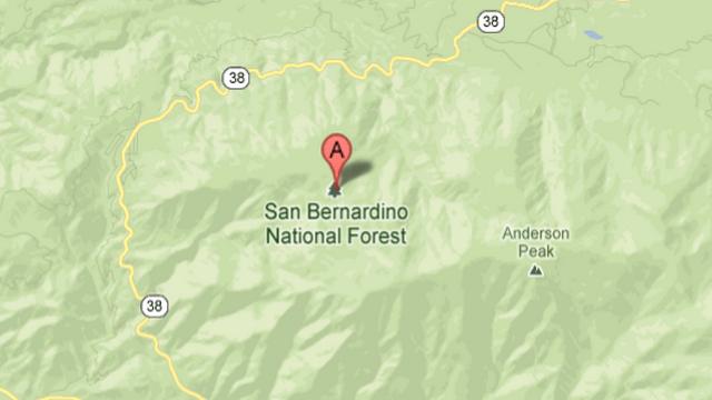 San Bernardino National Forect, Route 38, Chris Dorner, Christopher Dorner