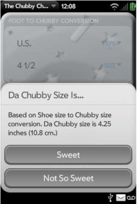 """Chubby Checker (Ernest Evans) is suing HP and Palm over their app, """"The Chubby Checker"""""""