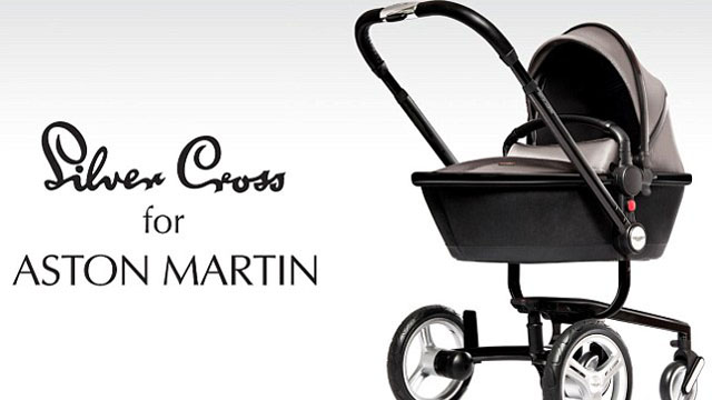 Aston Martin Silver Cross Stroller Will Cost 3000 Photos Heavy Com
