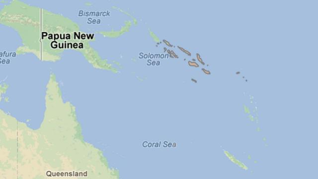 Solomon Islands, Earthquake, Solomon Earthquake