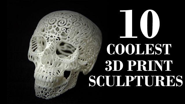 3d print sculptures